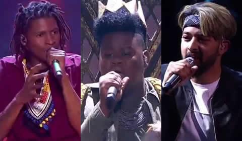 Idols SA 2018 Season 14 Top 7 Boys