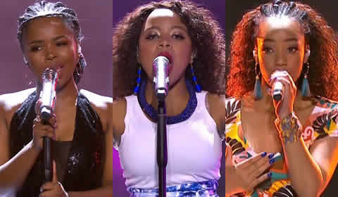 Idols SA 2018 Season 14 Top 6 Girls