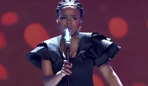 Yanga Sobetwa performing Try Sleeping With A Broken Heart By Alicia Keys