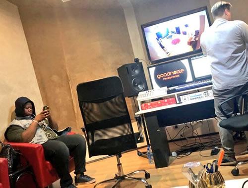 Idols SA 2018 Season 14 King B Debut Single Recording Session