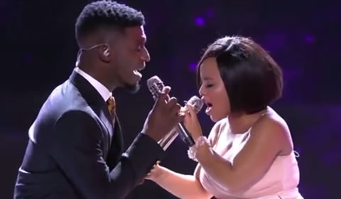 Top 3 Reveal: Watch Thando and Karabo Mogane's duet