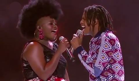 Idols SA 2018 Thato Makape and Amanda Black's duet Ngamthanda Umuntu Linda