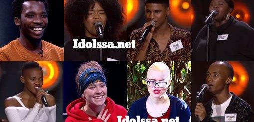 Idols SA 2019 Top 17 Group B Song Choices