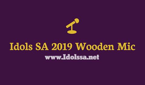 Idols SA 2019 Wooden Mic