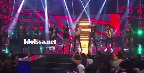 Idols SA 2019 Top 17 Group A Contestants Performing Fela In Versace By AKA ft Kiddominant
