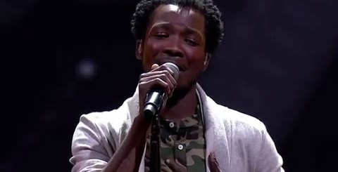 Luyolo Yiba Performing Just Say You Won't Let Go By James Arthur