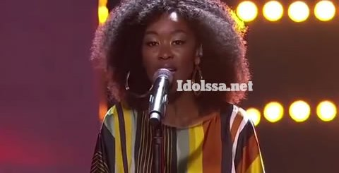 Idols SA 2019 Top 17 contestant Mmangaliso Gumbi Performing Egoli By Mlindo The Vocalist featuring Sjava