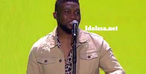 Idols SA 2019 Top 17 Contestant Nolo Seodisha Performing Talk By Khalid