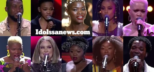 Idols SA 2019 Top 10 Contestants