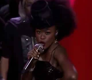 Mmangaliso Gumbi Performing Lady Marmalade by Patti Labelle
