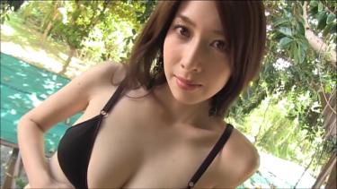 【小林恵美】Fカップ8 セクシー黒ランジェリー×大人の色気