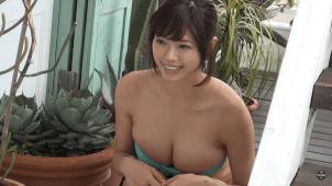 【わちみなみ】Hカップ 驚異の逸材!大型新人!グラビアデビュー!