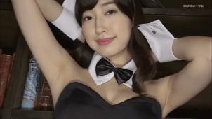 【寺田御子】Gカップ2 魅惑のバニーガールコスで大胆アピール