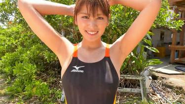 【久松郁実】Dカップ26 思わせぶりな態度が男心を駆り立てる!?健康的な競泳水着姿!
