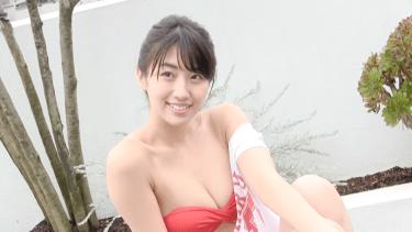 無【関根ささら】Dカップ 「放課後プリンセス」メンバーの水着姿!シャワーで濡れちゃいます!