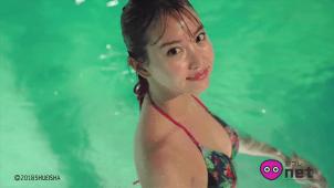 【永尾まりや】-カップ4 濡れる!下着姿!水着姿!濡れる!台湾グラビア!