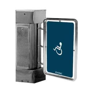 X acessos de mobilidade reduzida X Acessos de Segurança X Aço Inox 304 X Aço Inox 316 X barreira X barreira de acessos X Controlo de Acessos X IdAccess X TORN X torn b16 X IDONIC TORN B16 X barreira larga de acessos