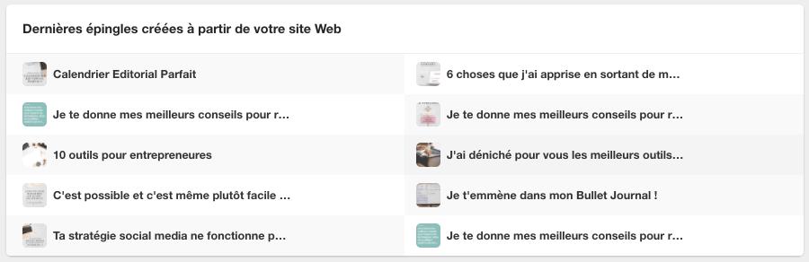 Les bases de Pinterest Analytics