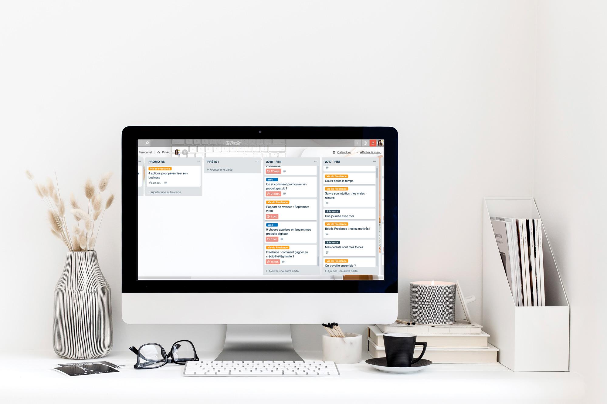 Comment Trello a révolutionné ma vie professionnelle en Freelance