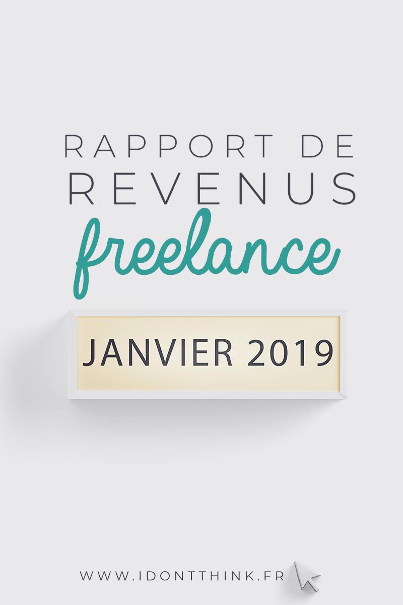 Rapport de revenus : Janvier 2019