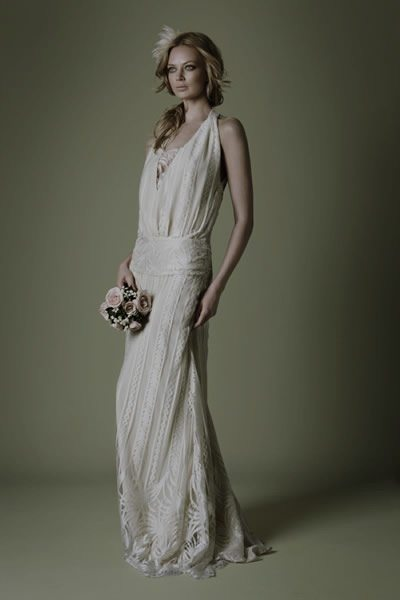 Roaring rogue and retro 1920 39 s wedding gowns for Roaring 20s wedding dress