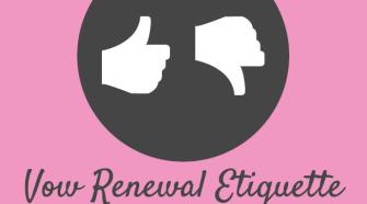 vow renewal etiquette