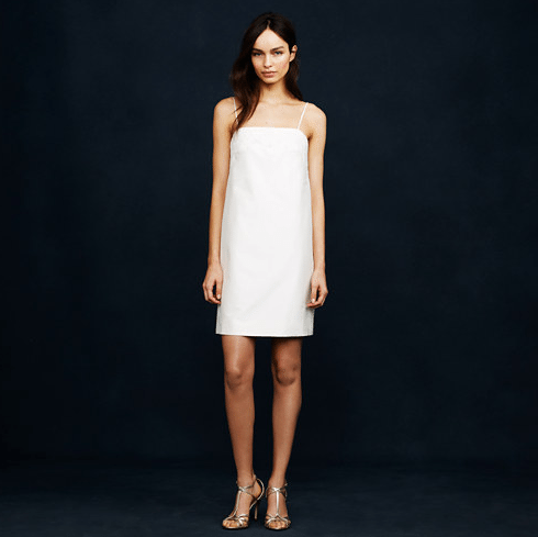 jcrew second wedding dress