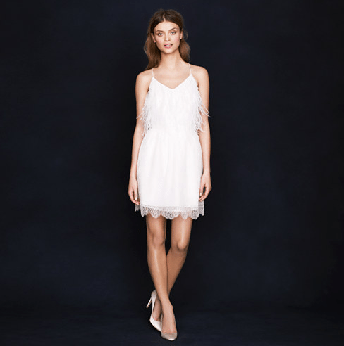 j crew wedding dress