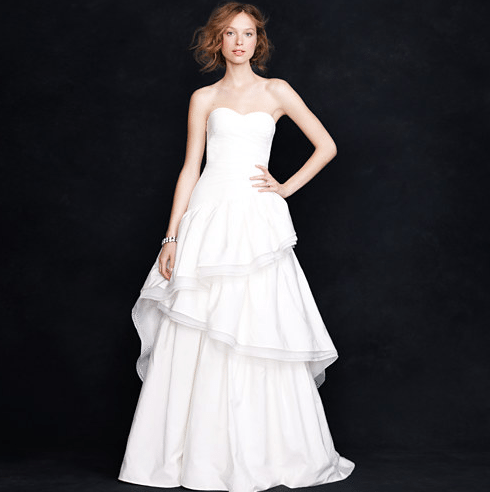 j crew second wedding dresses