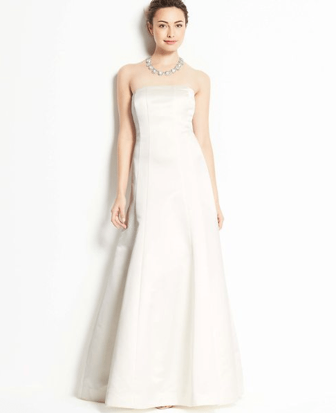 Second Marriage Wedding Dresses: Ann Taylor Collection. Perfect For Second Wedding Dresses