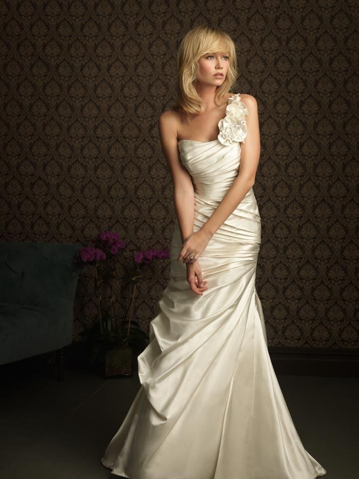 ivory second wedding dress