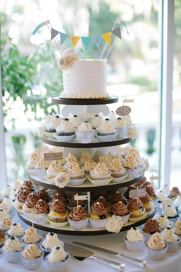 Wedding Cupcakes | Perfect Vow Renewal Cake