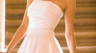 little white dress wedding