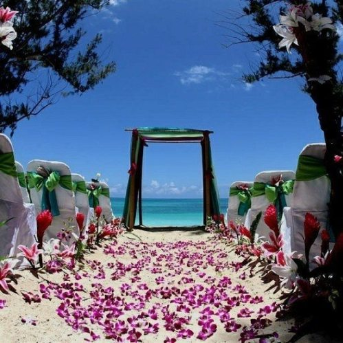 beach vow renewal
