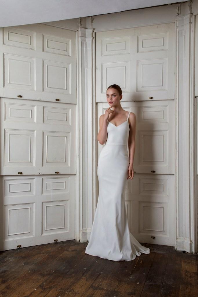 victor halfpenny London wedding dress