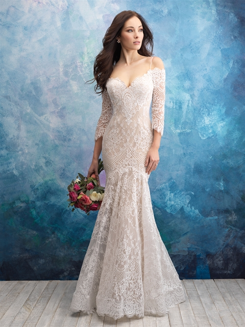 33ec3174bb 13 Gorgeous Dresses for Older Brides  2019 Edition