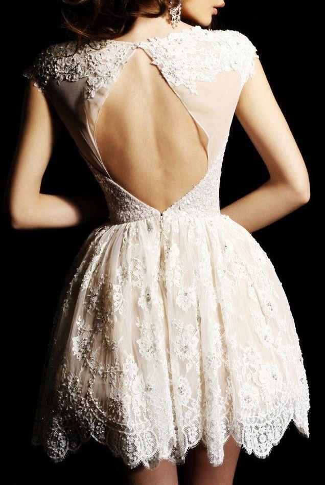 sexy vow renewal dress