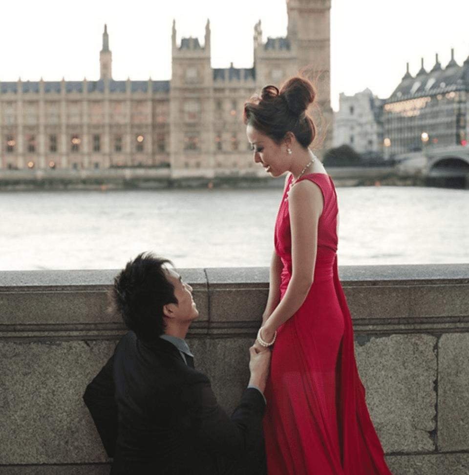 wedding proposal london