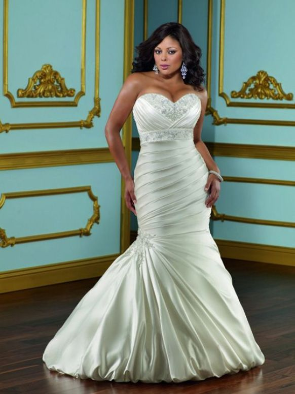 larger bridal dress