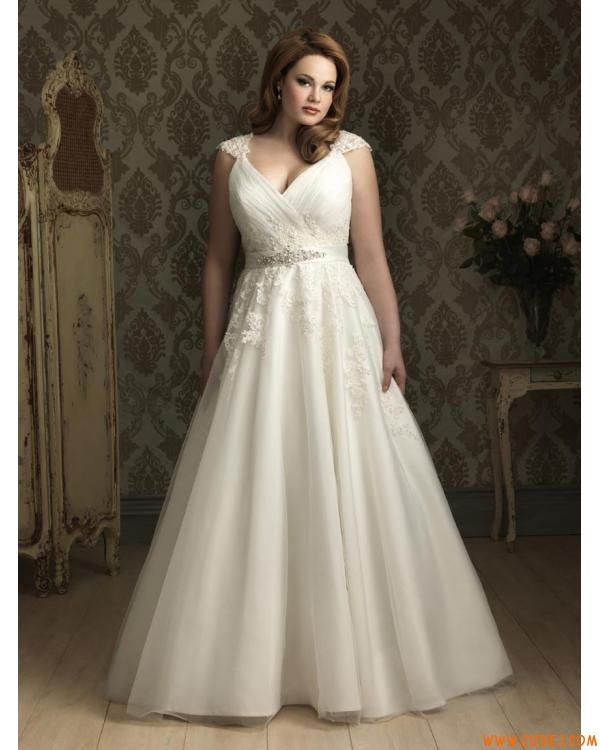 Simple 2nd Wedding Ideas: I Do Take Two Second Wedding Dress For Plus Size Bride