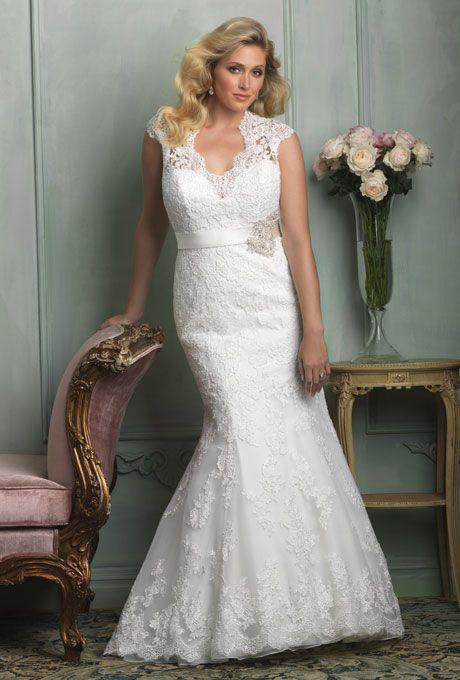 Second Wedding Dress For Plus Size Bride