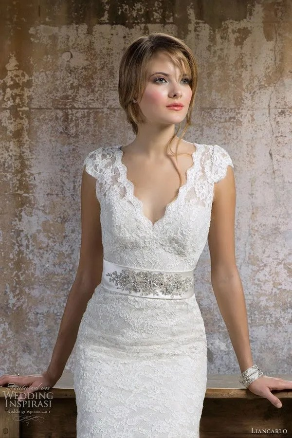 Ivory Colored Wedding Dress for Older Second Time Bride