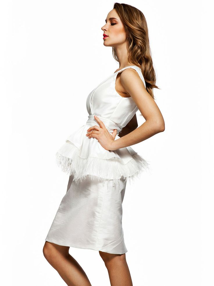 little white dress sheath