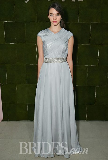 Shimmery Silver Gowns For The Second Time Around