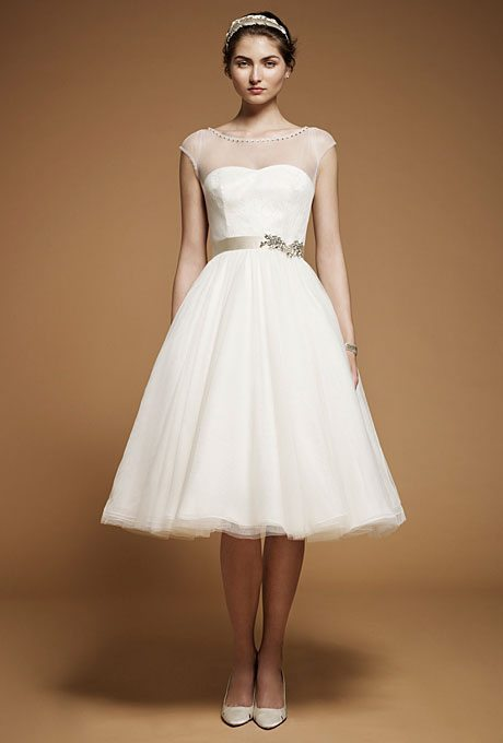 Preppy Wedding Dresses for Older Brides