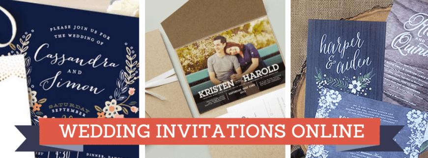 diy wedding invitations online