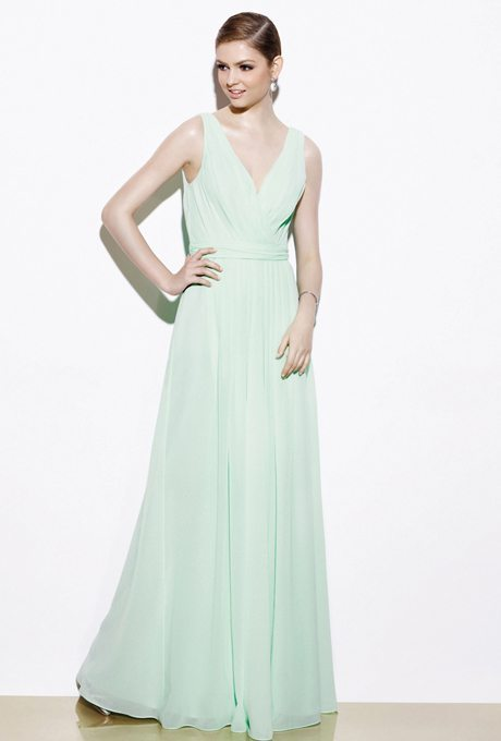 Minty Maid of Honor Gowns for Any Shape or Size