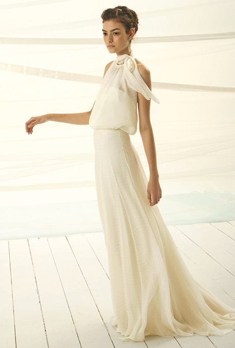Flowing, Chiffon Gowns Ready for Your Vow Renewal