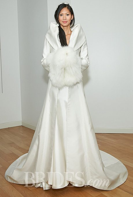 Alternative Winter Wedding Gowns with Matching Coats