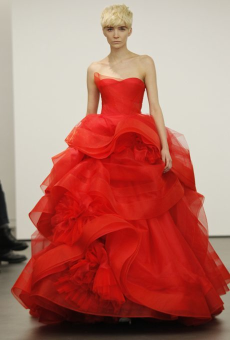 Red Bridal Ball Gowns Just in time for Christmas!
